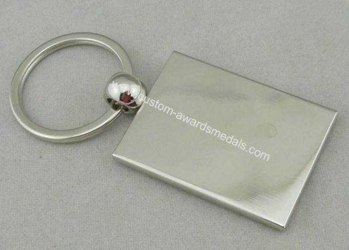 Imitation Hard Enamel Olympic Promotional Key Chain With Nickel Plating , Zinc Alloy Special Key Hole