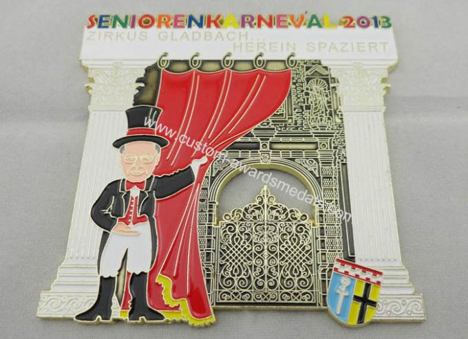 Photo Etching, Injection, Die Cast Senioren Karneval Carnival Medal for Awards Gift