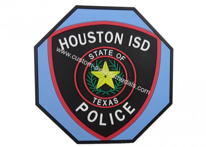 Houston ISD 2d Soft PVC Beverage Coaster, Custom Drink Coasters