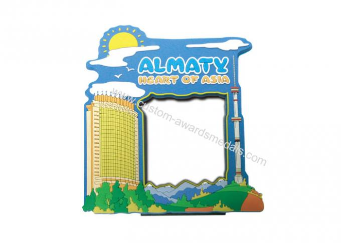 Promotional Gift Customized 2D ALMATY Silicon, Soft PVC Photo Frame
