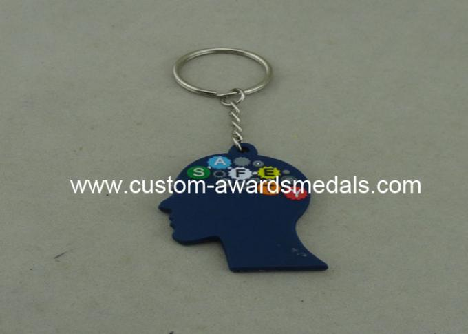 Popular 3D Customizable Keychains Promotional Soft PVC Injection