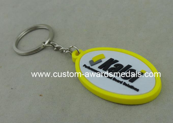 38 Mm Soft Custom Pvc Keyrings Give Away Personalized Key Chains