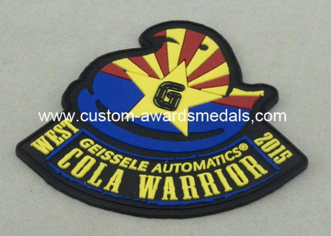 Promotion 3D Lapel Pin And Hard Magnet Disc PVC Badges Personalized
