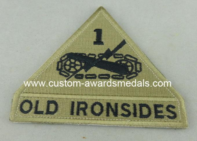 Old Ironsides Custom Embroidery Patches American Police Woven Patches