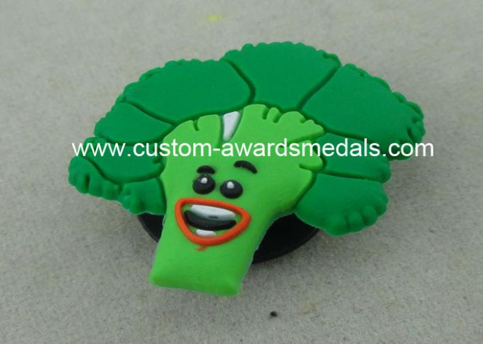 Customizable 3D Shoe Decorate Ornament PVC Coaster Rubber For Child