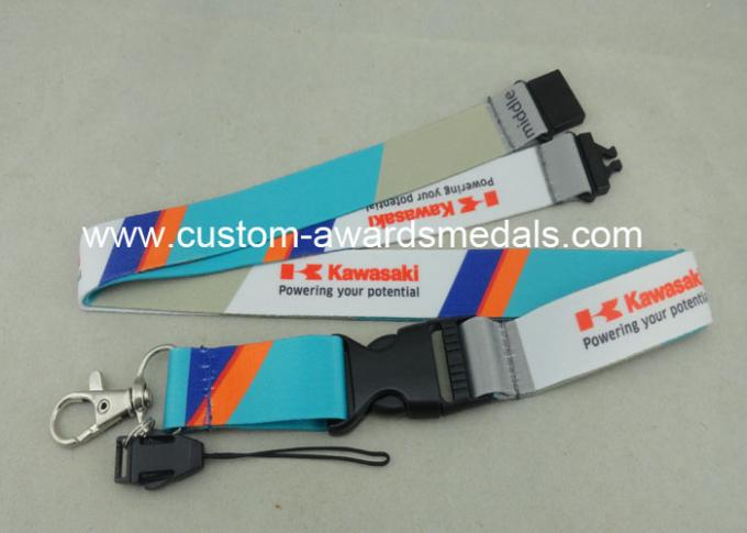 Customised Mobile Holder Promotional Lanyards Printing Luggage Belt