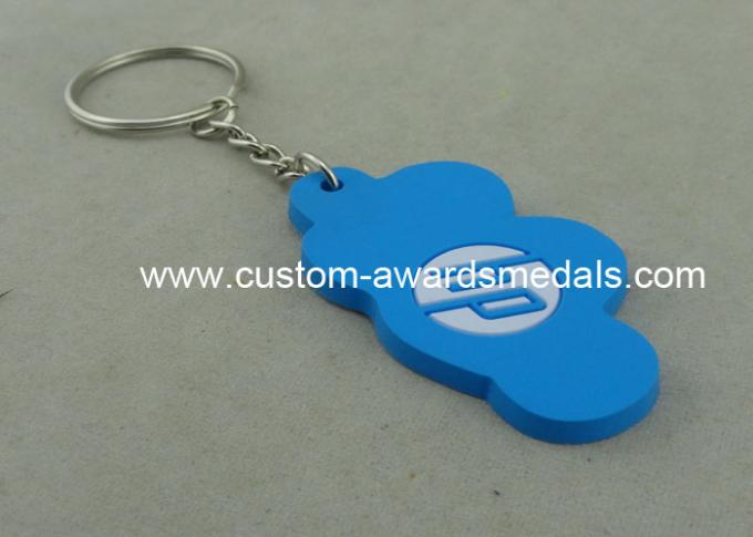 New Attractive Promotional PVC Key Chain , 3D Colorful Give Away Keyring