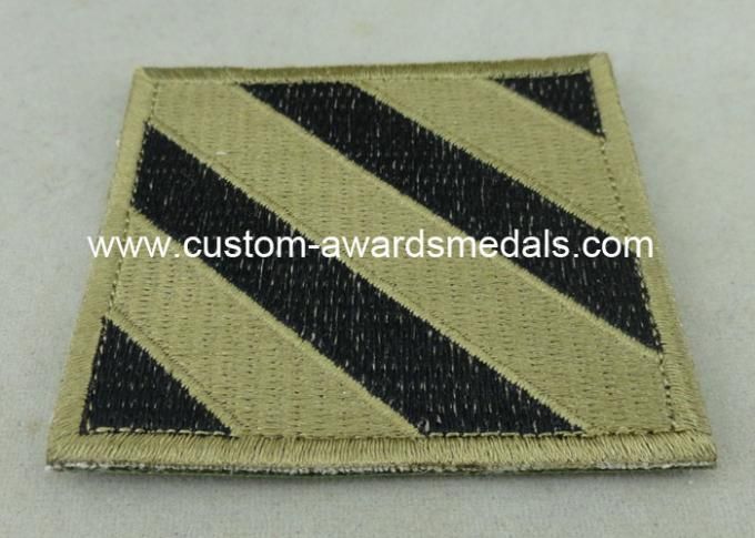 USA Air Force Clothes Lapel Patches , Iron Glue Patches For Military