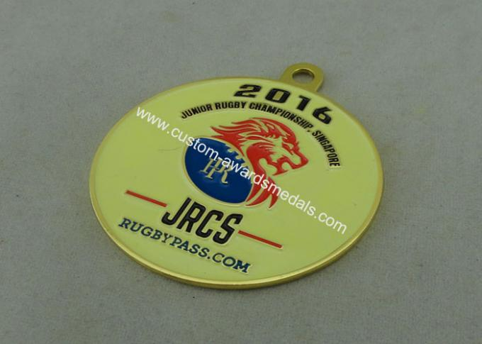 Die Casting Custom Made Soft Enamel Medallion , Carnival Medal With Zinc Alloy Material.