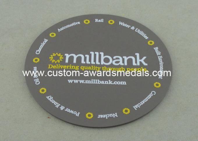 Customized Soft PVC Coaster , Promotional 3D Plastic Coaster