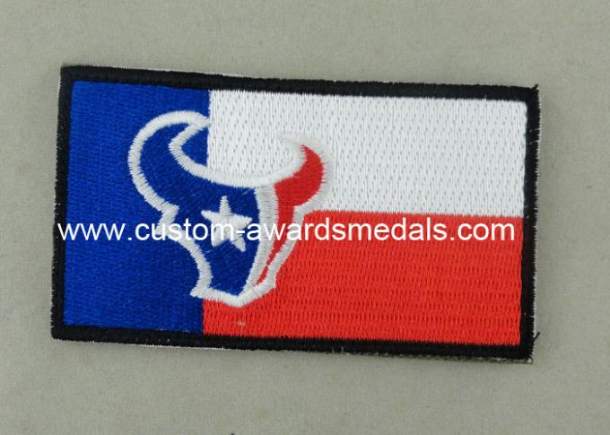 Heat Cut Custom Embroidery Patches with Hot Melt Adhesive 8 - 100 mm Size