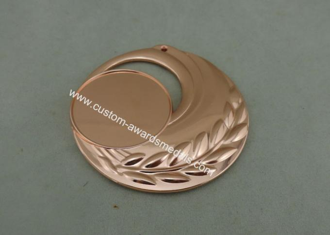 3D Embossed Military Metal Medals , Zinc Alloy Die Casting Bronze medals