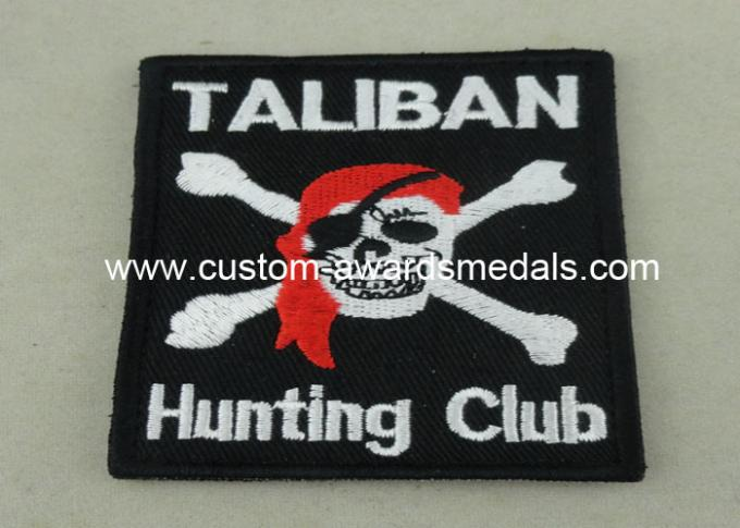 100% Embroidery Patches And Uniform Lapel For Police Garment