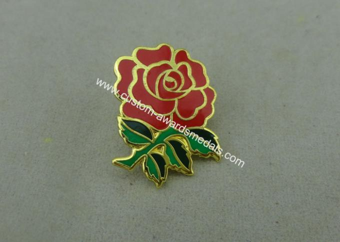 Brass Animal Synthetic Enamel School Pin Die Stamped 3D Design