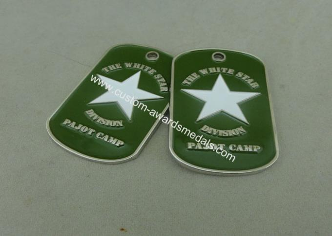 Green Personalised Dog Tags Die Casting Zinc Alloy Bottle Opener