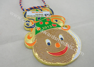 China High Quality Rhein Neckar EG Soft Enamel Karneval Medal by Anti Copper, Ant Gold, Mat Gold, Mat Nickel supplier