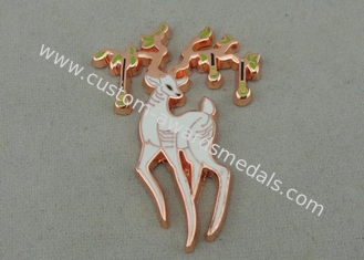 China Souvenir Synthetic Enamel Badges Copper Plating Mat - Nickel OEM ODM supplier