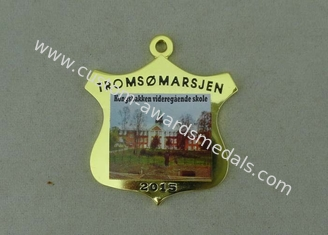 China Brass Soft Enamel Medal Die Stamped Gold Medals Printing Organization supplier