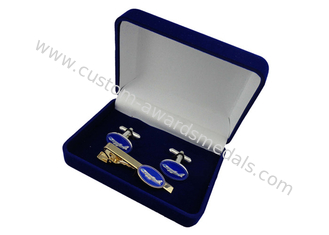 China Promotional Brass Or Copper Or Zinc Alloy Air Force One Cufflink With Soft Enamel, Gold Plating supplier