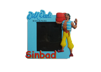 China 3D Sinbad Soft PVC Photo Frame, Picture Frame for Promotion Gift supplier
