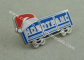 China Silver Hard Enamel Lapel Pin Brass Die Stamped Promotional Brooch Pin supplier