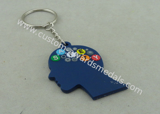 China Popular 3D Customizable Keychains Promotional Soft PVC Injection supplier