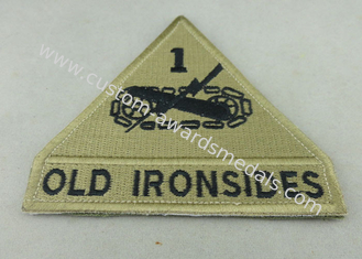 China Old Ironsides Custom Embroidery Patches American Police Woven Patches supplier