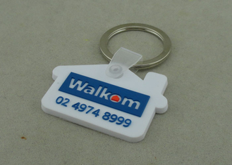 China Medal Customizable PVC Keychain Printing Custom PVC Keyrings supplier