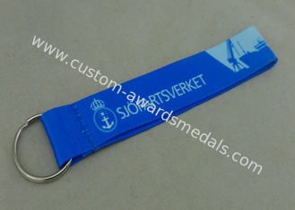China Short Straps Key Chain Holder Customizable Lanyards Shoelace Personalized Lanyard supplier