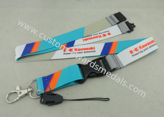 China Customised Mobile Holder Promotional Lanyards Printing Luggage Belt supplier