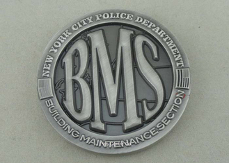 China Zinc Alloy Personalized Coins Police Custom Challenge Coins By Brass Die Struck supplier