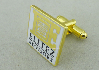 China Customized Personalized Tie Bar For Business Gifts / Hard Enamel Promotional Cufflink supplier