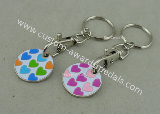 China Plastic Soft Enamel Supper Market Token Iron Stamped Personalized supplier