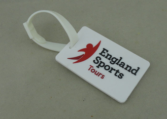 China Personalized Promotional PVC Luggage Tag , Rubberized Key Chain For Award supplier