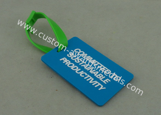 China Business Promotion Promotional PVC Keyring Rubberized 4.0 Mm Thickness supplier