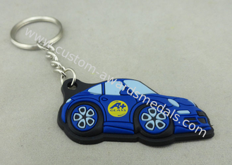 China Customized Colorful PVC Keychain , 3D Soft PVC Promotional Key Tag supplier