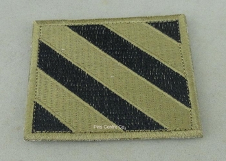 China USA Air Force Clothes Lapel Patches , Iron Glue Patches For Military supplier