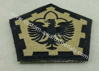 China The Pentagon Clothes Patches Badges , Custom Embroidery Patches With Velcro supplier