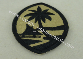 China Customized Police Embroidered Badge , Patches For Uniform supplier