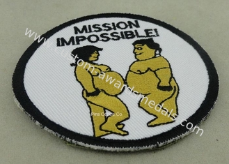 China Customized Promotional Embroidered Badge With Merrow supplier