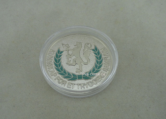 China Personalized Soft Enamel Coins , Zinc Alloy Die Stamped Memorial Coin supplier