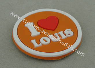 China Multi Color Customized Plastic Coaster , Soft PVC Promotional Luggage Tag supplier