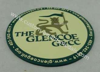 China Promotional 2D PVC Coaster , Custom Plastic Luggage Tag For Business supplier