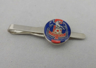 China Vintage Personalized Tie Bar Copper With Soft Enamel , Nickel Plating For Boy supplier