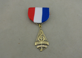 China Brass Custom Awards Medals 3D Die Stamped Awards Medals 1.2 - 10mm Thickness supplier