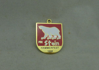 China Zinc Alloy Imitation Hard Enamel Personalized Medals Customized For Awards supplier