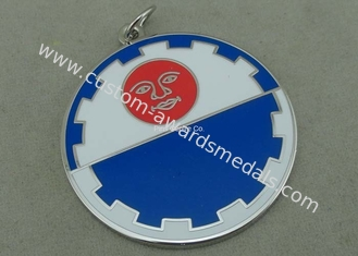 China Brass Stamped Hard Enamel Karate Medals Taekwondo Medals Customized Swimming Awards supplier