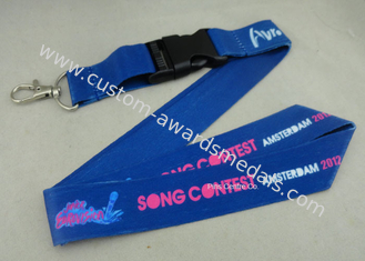 China Full Color Printing Promotional Lanyards Sport Meeting Medal Ribbon / ID Neck Ribbon supplier