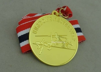 China Copper Die Stamped Sport Meeting Awards Medals , Carnival Medals For Promotion supplier