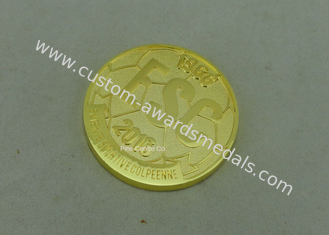China Military Awards Personalized Coins / Air Force Challenge Coins 2 - 6mm Thickness supplier